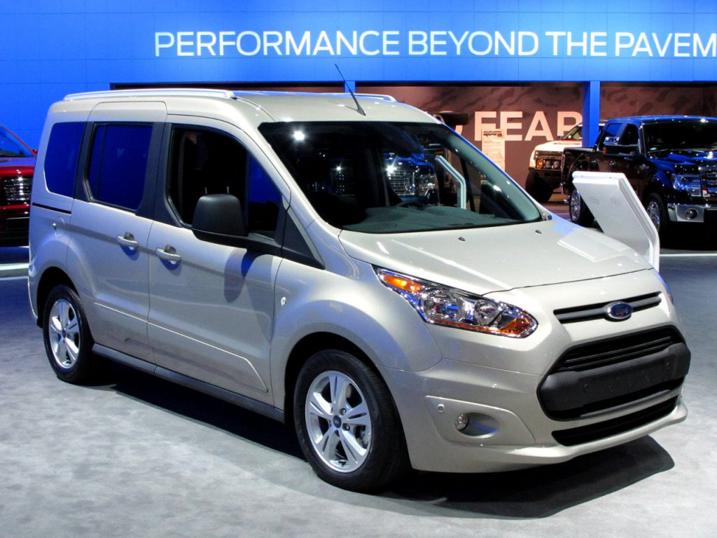 Ford Transit Connect Wins International Van of the year Trophy