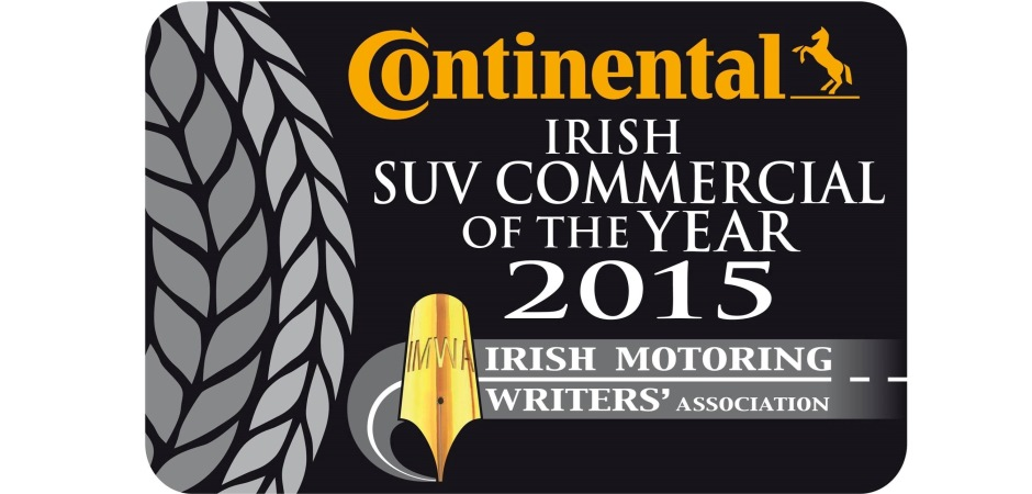 Irish Continental Van of the Year 2015