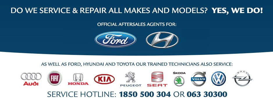 We service all makes and models