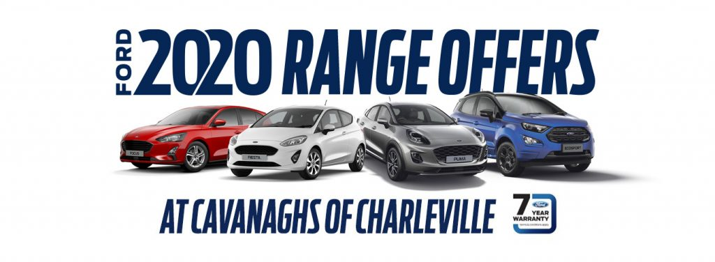 Ford 2020 Range offers