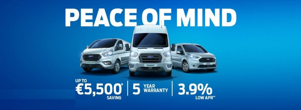 Peace of Mind Ford Commercials Offer