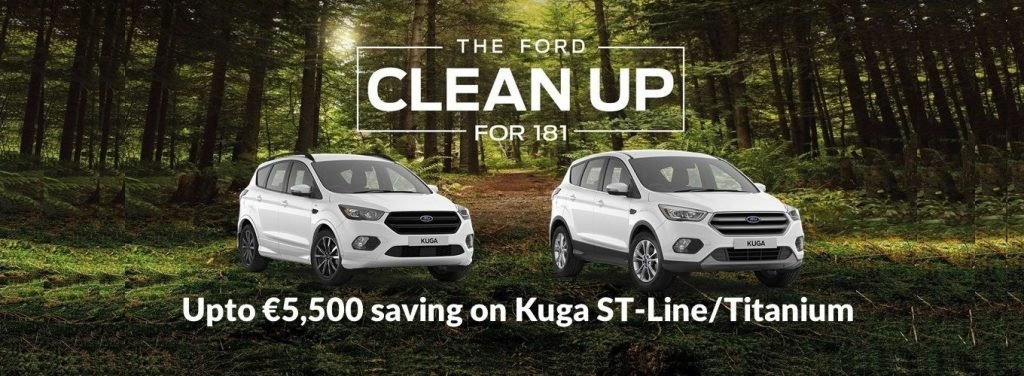 Ford 2018 Clean Up on Kuga