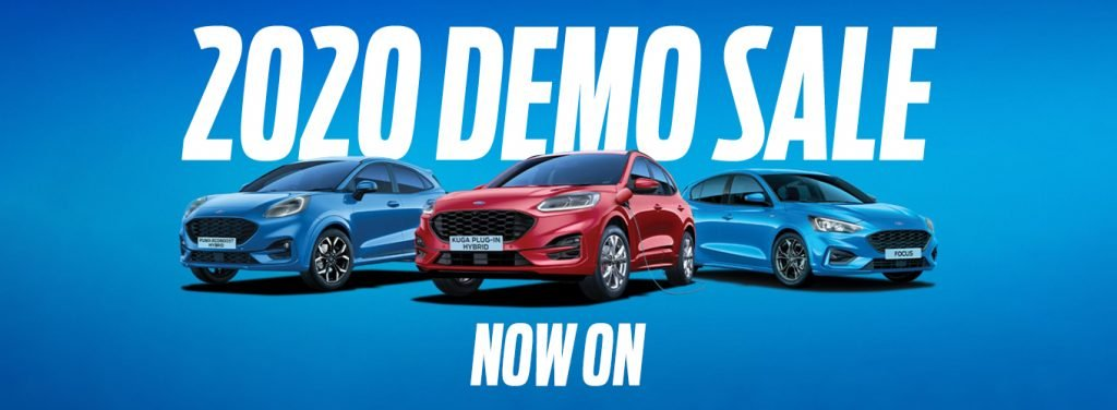 2020 Ford Demo Sale