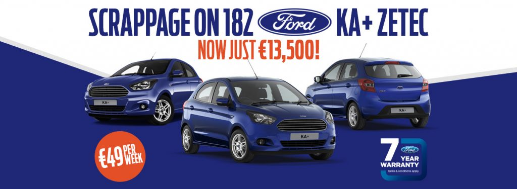 Ford Ka Scrappage Offer